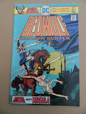 Beowulf  4 . Dracula Cover / Story . DC 1975 . FN +