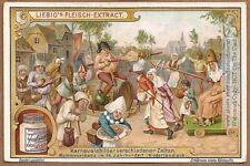 Masquerade In Belgium Holland 16th Century 1905 Trade Card