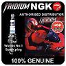 NGK Iridium IX Spark Plug fits DAELIM Cordi 50cc 04-> [BPR6HIX] 4085 NGK New in