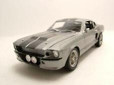 Ford Shelby Mustang GT 500 Eleanor 1967 silbergrau Modellauto 1:18 Greenlight
