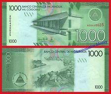 NICARAGUA 1000 Cordobas 2016 2017 Pick 215 SC / UNC