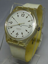 """RARE Find-Vintage Condition 1991 """"RSVP"""" GK129 3/4 inches Plastic Swatch Watch~"""