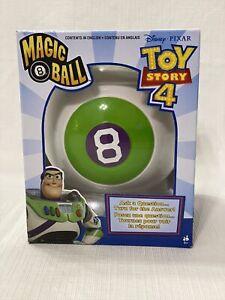 Toy Story 4 Disney Pixar Magic 8 Ball Buzz Lightyear NEW Fortune Teller