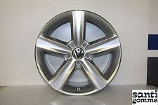 "CERCHIO IN LEGA VOLKSWAGEN GOLF 6  7,5 x 17 "" ORIGINALE RIVERNICIATO 5K0601025G"