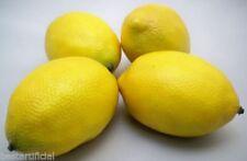 Fruits artificiels citrons pour la décoration intérieure de la maison