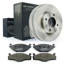 Bremsscheiben + Bremsbeläge vorne 239mm voll VW Polo 6N1 6N2 Kasten 6NF Satz Kit