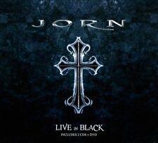 Live In Black - Sweden Rock 2010 JORN 2 CD + 1 DVD ( FREE SHIPPING)
