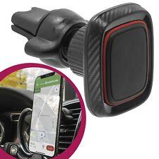 Mobilefox universal coche para móvil para coche carbon óptica ventilación coche soporte magnético