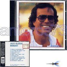 "JULIO IGLESIAS ""MOMENTI"" RARE CD ITALIAN SUNG 1982 - SEALED"