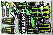 """autocollants """"Monster N°5"""" sport mécanique"""