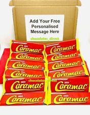 12 Nestle Caramac 30g Bar Caramel Flavour Chocolate Personalised Gift Hamper Box