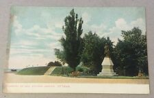 Monument of George Etienne Cartier OTTAWA ON unused divided postcard CANADA