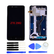 LCD Display Touch Screen Digitizer Assembly+Tools For ZTE Blade Z MAX Z982