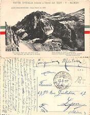 WWI 1916 ESERCITO FRANCESE-VETTE REDENTE Cima Undici FRONTE ITALIANO (L-L 057)