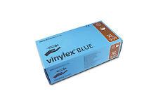 100 Vinylex Einmal Einweg Untersuchungs Handschuhe Vinyl Blau Gepudert Gr. XL