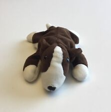 Ty Beanie Baby - Bruno the Bull Terrier Dog (8.5 inch) - No Hang Tag