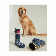 Joules Rubber Welly Dog Toy with Squeaker - Squeaky Dog Toys