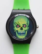 Retro 80s designer watch - Halloween Skull Watch