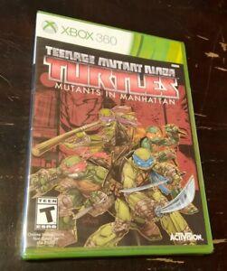 Teenage Mutant Ninja Turtles Mutants In Manhattan Microsoft Xbox 360 New Sealed