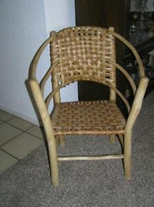 RARE! Old Hickory Furn Co Indiana Hooped Arm Child's Chair STAMPED