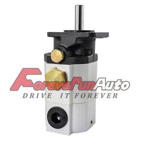 11GPM Hydraulic Log Splitter Pump, 2 Stage Hi Lo Gear Pump, Logsplitter, New