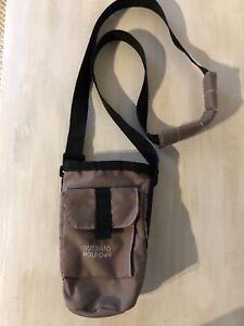 Outward Hound Dog Treat Bag, Brown W/Outside Pocket, Adjustable Strap