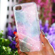 Rainbow Glitter star  Ultra-thin Soft TPU Case Cover For iPhone 7 7 Plus 6s 6+