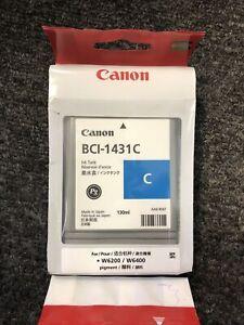 Genuine Canon BCI-1431C Cyan Ink Cartridge #8970A001AA Expired 2015 2014