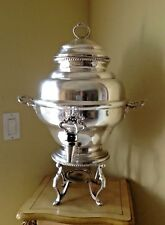 VTG Marlboro Plate By Morton Parker Canada Silver Plated Teapot Kettle Serving