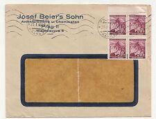 Brief Kosef Beier`s Sohn Anilinfarbstoffe Chemikalien Prag Praha 1940 ! (D)