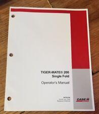 Tiger-MATE 200 Single Fold Operators Manual 1J-2061-X19