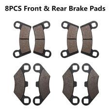 Black 8PCS Front & Rear Brake Pads For Polaris Razor RZR 800, RZR800S & RZR570