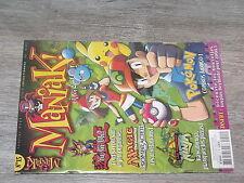 $$ Revue Maniak! N°15 Pokemon  Yu-Gi-Oh !  Magic  Tortues Ninja  Beyblade