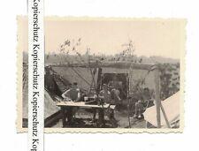 Foto halbnackte Soldaten Zelte Insterburg Ostpreußen Juli 1941 Paramata !