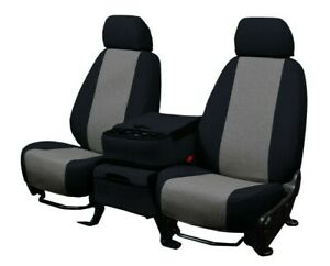 Chevy Colorado GMC Canyon 2015-2021 Charcoal Tweed Custom Fit Front Seat Covers
