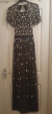 Needle and Thread Backless Embellished Comet Gown UK Size 12
