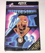 Winter Games Epyx Computer Software Game Atari 2600 7800 Replacement Empty Box