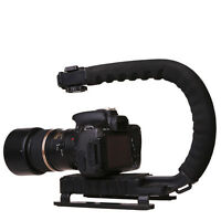 DSLR Camera C/U Shape Bracket Handle Grip Handheld Stabilizer Camcorder Video