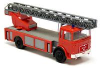 Herpa 818502 MAN F8 F9 Feuerwehr DLK 23 Drehleiter rot neutral Modell 1:87 H0