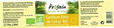 Etiquette de confiture Bio - Marque PROSAIN  (15)