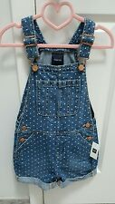 Girls gap kids denim shorts jumper Size S
