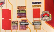 Pokemon Card Game Status Markers Poison Burn Confused EX-Art Darkrai Mega Mewtwo
