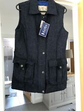 Jack Murphy Jilly Tweed Gilet - Navy