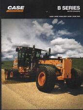 "CASE ""B-Series"" Motor Grader Brochure Leaflet"