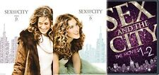 Sex and the City Complete Season 6 Parts 1 2 + SATC The Movies 1 and 2 DVD
