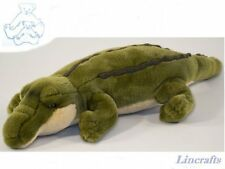 Crocodile  Plush Soft Toy by Dowman Soft Touch. RB390