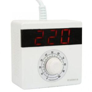 AC 220V 4000W LED Voltage Regulator,High Power Converter Limit Electricity Fan