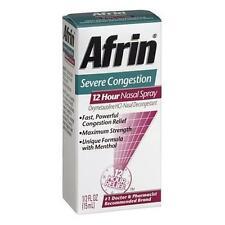 Afrin Spray Nasal Sévère Congestion 12 Heures Soulagement Rapide Puissant 14.8ml