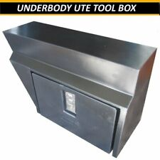 UTE TOOL BOX UNDER BODY TRAY LOCKABLE UTE TRADE 4X4 TOOLBOX POLY ACID PROOF NEW