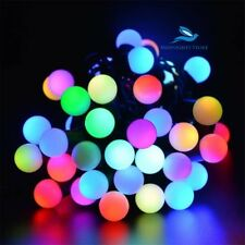 25 Foot Crystal Round Shape Diwali Christmas Decoration Light - 24 Bulbs